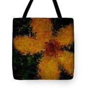 Orange-yellow Flower Tote Bag