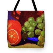 Oranges And Grapes Tote Bag