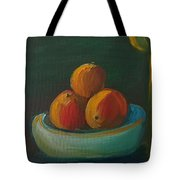 Oranges In A Bowl  Tote Bag