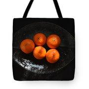 Oranges In Sunlight Tote Bag