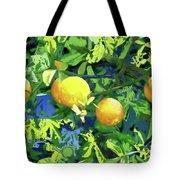 Oranges On Vine IIi Tote Bag