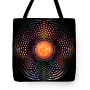 Orb Moon Rings Tote Bag
