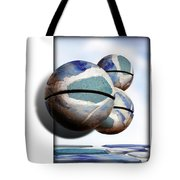 Orbiting Out Tote Bag