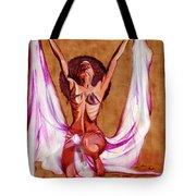Orbs Brown Tote Bag