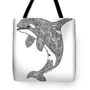 Orca Tote Bag by Carol Lynne