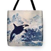 Orca Glacier Tote Bag