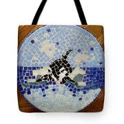 Orca Mosiac Tote Bag by Jamie Frier