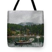 Orcas Island Digital Enhancement Tote Bag