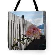 Orcas Island Rose Tote Bag