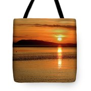 Orcas Island Sunset Tote Bag