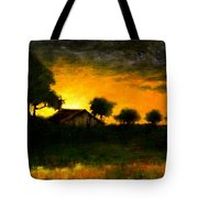 Orchard Sundown Tote Bag
