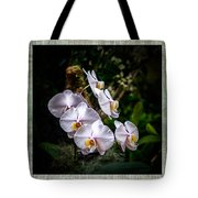 Orchid 1 Triptych Tote Bag