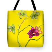 Orchid And Amarillo Tote Bag