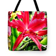 Orchid Cattlianthe Hybrid Tote Bag