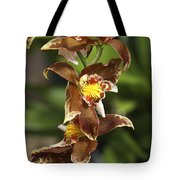 Orchid Curve Tote Bag