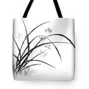 Orchid Elegance  Tote Bag