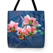 Orchid Flowers 8 Tote Bag