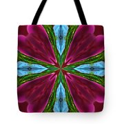 Orchid Frenzy Tote Bag