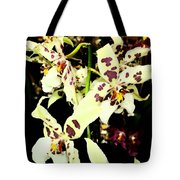 Orchid Fresco Tote Bag