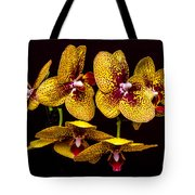 Orchid In Space Tote Bag
