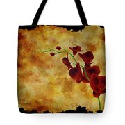 Orchid Interplay Tote Bag
