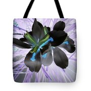 Orchid Inverted Tote Bag