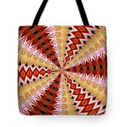 Orchid Kaleidoscope 8 Tote Bag