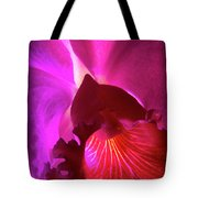 Orchid Landscape Tote Bag