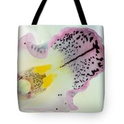 Orchid Tote Bag by Mark Johnson