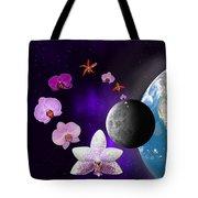 Orchid Moon Base Tote Bag
