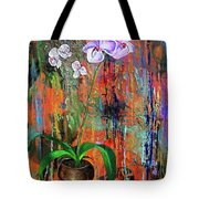 Orchid O Tote Bag