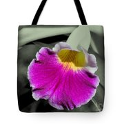 Orchid Of A Different Color Tote Bag