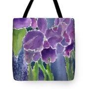 Orchid Rain Tote Bag