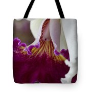 Orchid Ruffle Tote Bag