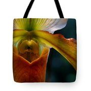 Orchid Slipper Tote Bag