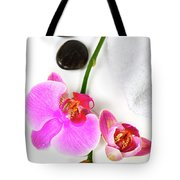 Orchid Spa Composition Tote Bag