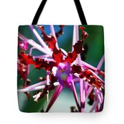 Orchid Spider Tote Bag