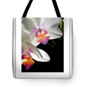 Orchid Spring Poster Tote Bag