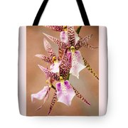Orchid Stars Tote Bag