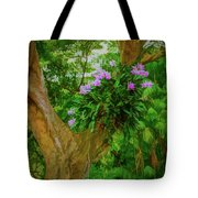 Orchid Tree Tote Bag