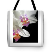 Orchid Underneath Poster Tote Bag