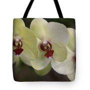 Orchid White Trio Tote Bag