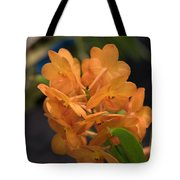 Orchid Yip Sum Wah Orange Tote Bag