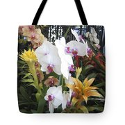 Orchids And Iron Tote Bag
