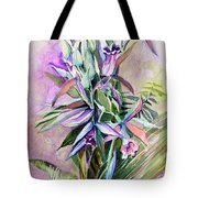 Orchids- Botanicals Tote Bag