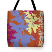 Orchids Caramel Tote Bag