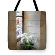 Orchids In The Chateau Tote Bag