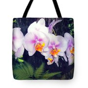 Orchids Of Hawaii Tote Bag