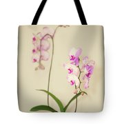 Orchids On Sideboard Tote Bag