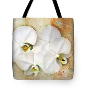 Orchids Upon The Rough Tote Bag